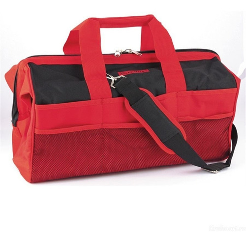 bolsa porta ferramenta 18 bolsos 20 polegadas - mtx