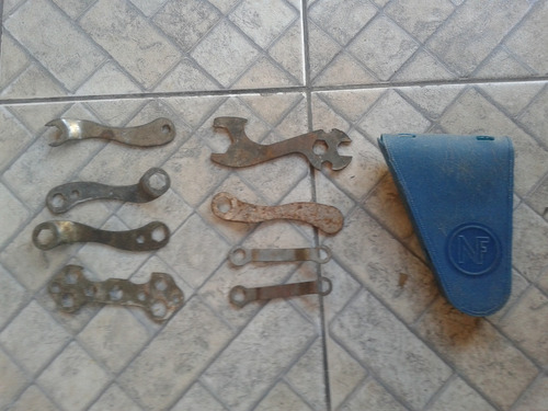 bolsa porta ferramenta quadro bicicleta antiga marca n f