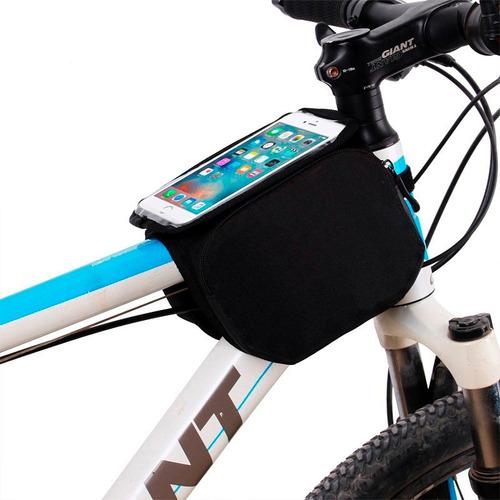 bolsa porta herramienta celular bicicleta estuche alforja