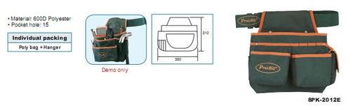 bolsa porta herramientas para la cintura proskit 8pk-2012e