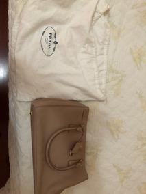 b7601117a Bolsa Prada Original Nylon - Bolsas de Couro Ocre no Mercado Livre ...
