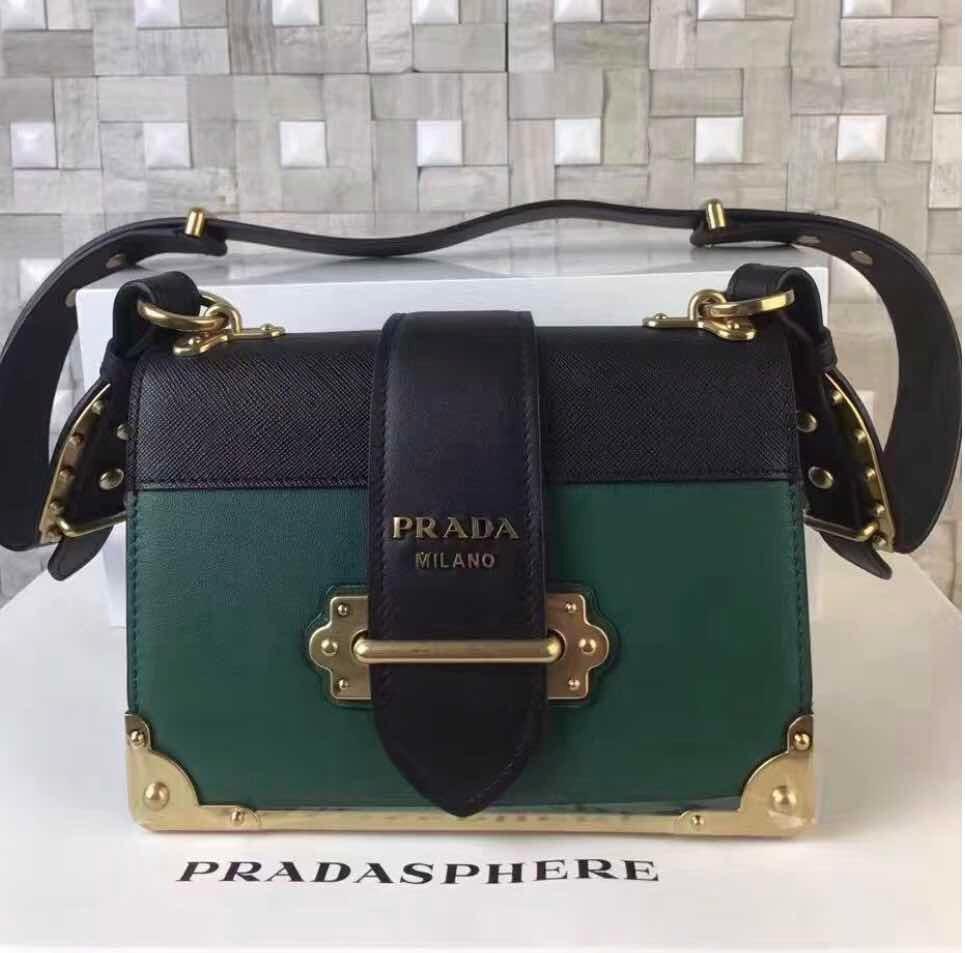 3467f3e9383ad bolsa prada milano cahier iconic couro original - importada. Carregando  zoom.