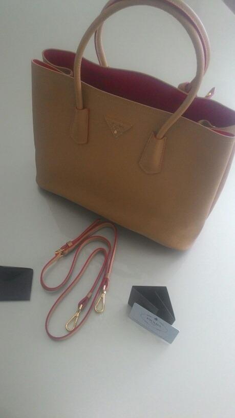 62bef7eb7 Bolsa Prada Milano Grande - R$ 819,00 em Mercado Livre
