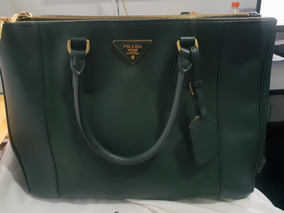 88426fa83 Bolsa Prada - Preço - Bolsas de Couro Verde no Mercado Livre Brasil
