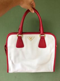 169199168 Bolsa Prada Vermelha - Um - Bolsas Femininas no Mercado Livre Brasil