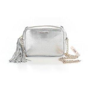 8601b1b71 Bolsa Prateada, Crossbody - Victorias Secret - R$ 130,00 em Mercado ...