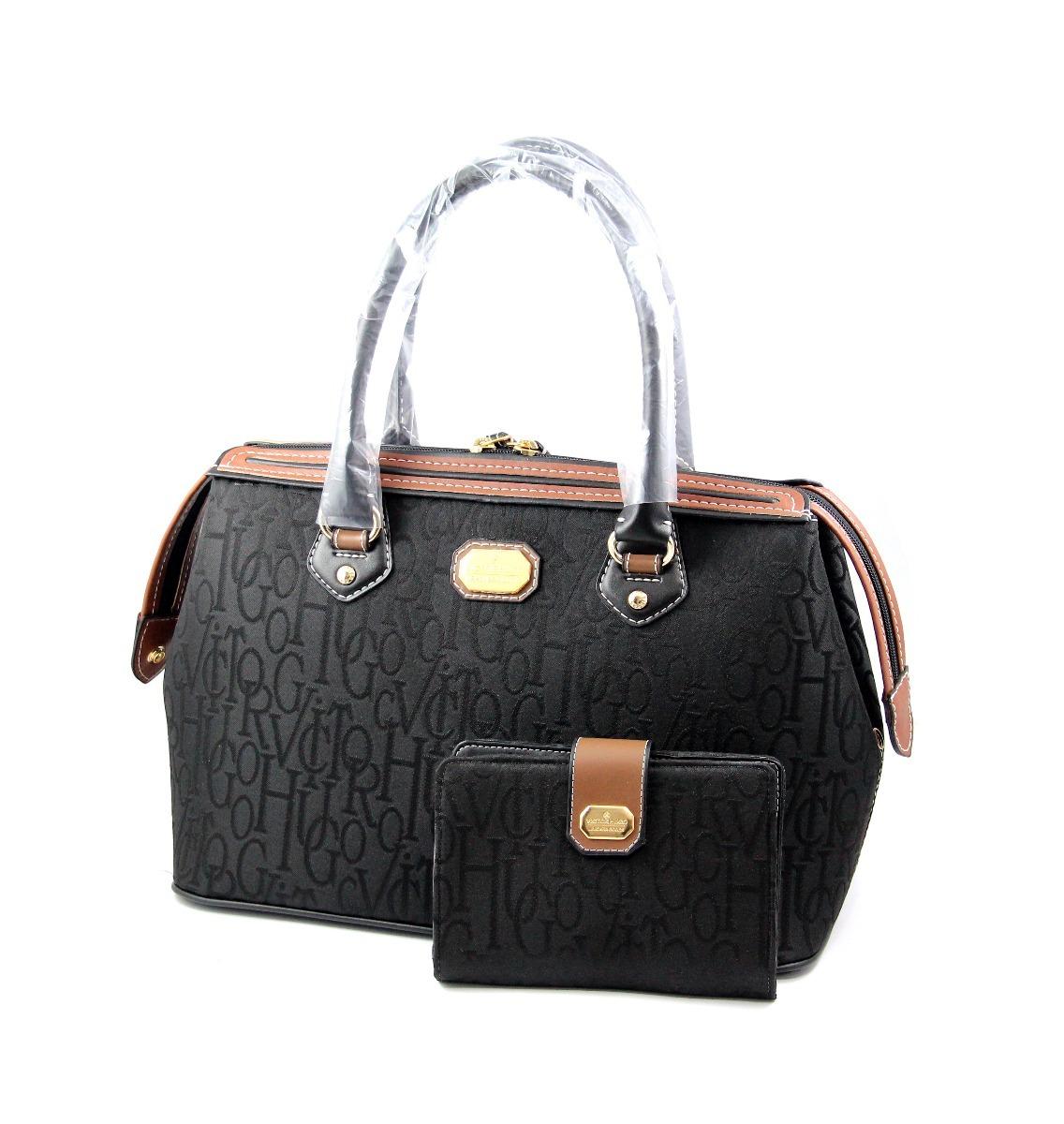 fe65135a1 Bolsa Promocao Dia Das Maes Grace Victor Hugo Vh + Carteira - R$ 540 ...
