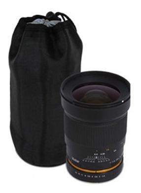 bolsa protectora deluxe lp-8 para lentes 8'' - las piedras