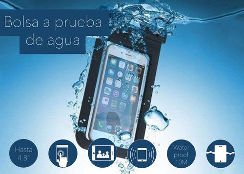 bolsa protectora waterproof sumergible agua celular