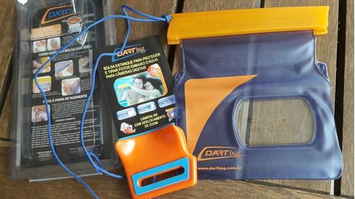 bolsa prova d'água dartbag para câmeras pequenas