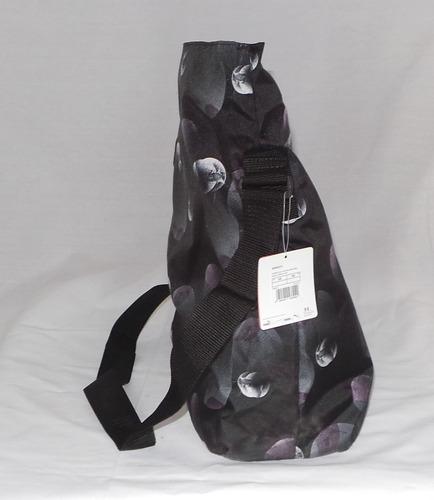 bolsa puma de hombro tela negra nueva envio gratis maa