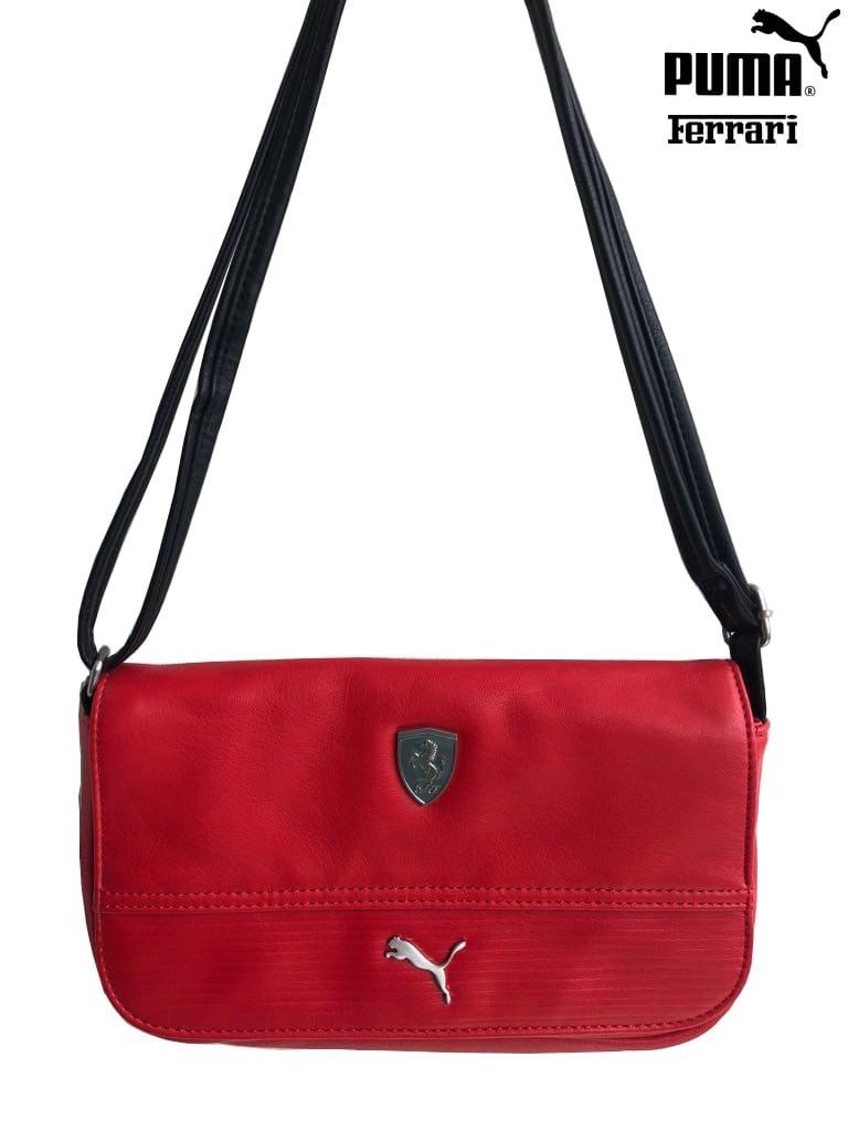 4a54a8d04 Bolsa Puma Ferrari Ls Small Satchel - R$ 269,90 em Mercado Livre