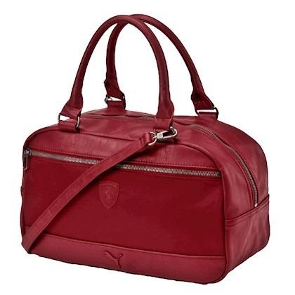 14db51d8d Bolsa Puma S. Ferrari Ls Handbag Vermelha Estoque Esgotando - R$ 199 ...