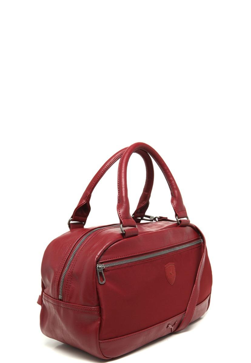 1151fd759 bolsa puma s. ferrari ls handbag vermelha estoque esgotando. Carregando zoom .