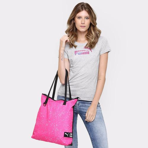 642ccee84 Bolsa Puma Shopper Styfr-fundamentals Rosa Original!!! - R$ 60,00 em ...