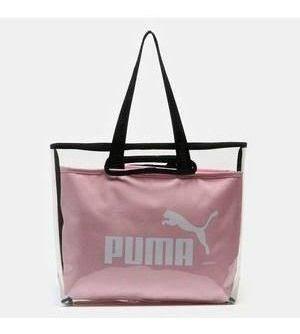 bolsa puma tote rosa