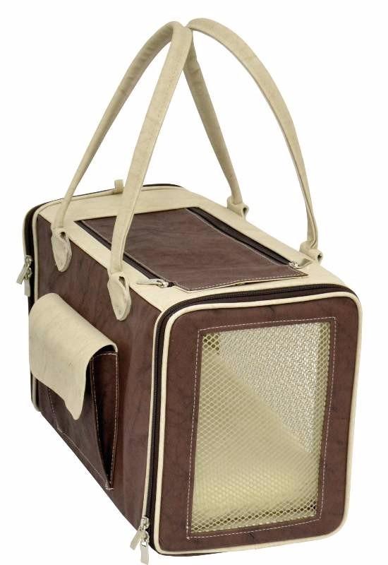 Bolsa Para Transporte De Cachorro Em Avião : Bolsa quadrada em courino para c?es e gatos tamanho r