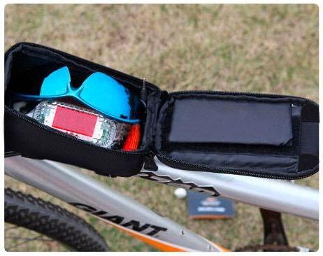 bolsa quadro case porta objeto bike bicicleta ciclismo