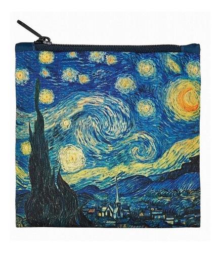 bolsa re utilizable en tela la noche estrellada van gogh