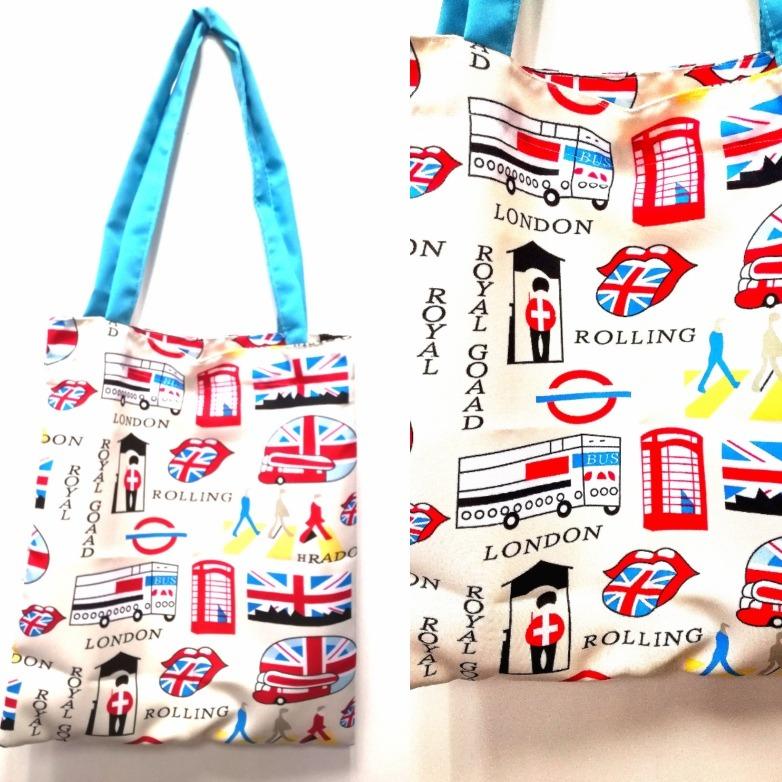 becf0cac0 Bolsa Reciclable De Tela Género Inglaterra Beattles - $ 3.990 en ...