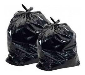bolsa residuo negra 50x70 por 100 unidades