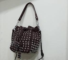 191857f7b Bucket Bag - Bolsa de Couro Sintético Femininas no Mercado Livre Brasil