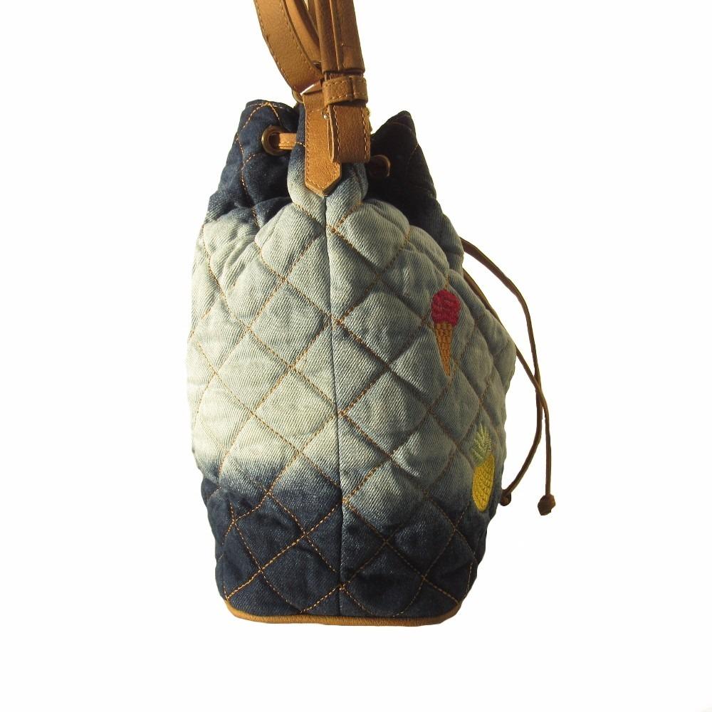 212846914 Bolsa Saco Jeans Sabrina Sato - R$ 229,90 em Mercado Livre