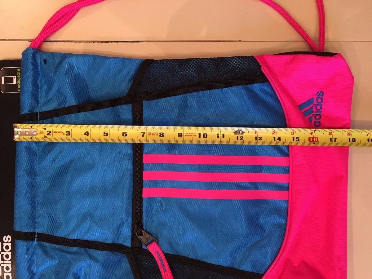8c3c90569 bolsa sackpack alliance 2 adidas original gimnasio pink. Cargando zoom.