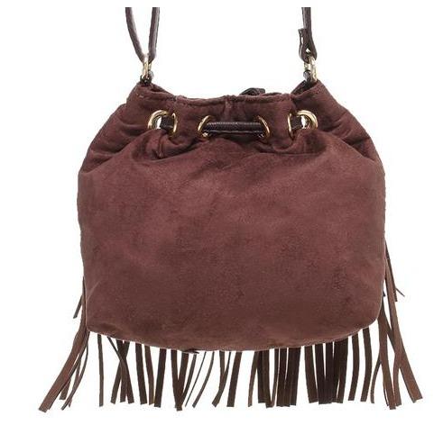 Bolsa Saco Com Franjas Larissa Manoela - R  69,90 em Mercado Livre 7d584501a0