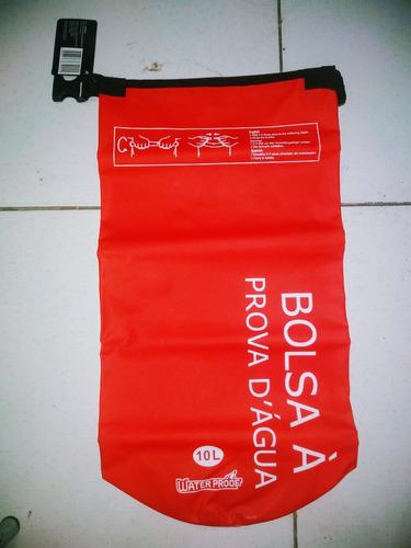 bolsa saco estanque prova d'água bóia 10 litros impermeável