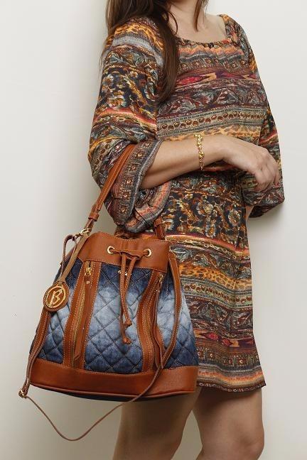 3973b543b Bolsa Saco Jeans Coleção Sabrina Sato - R$ 70,00 em Mercado Livre