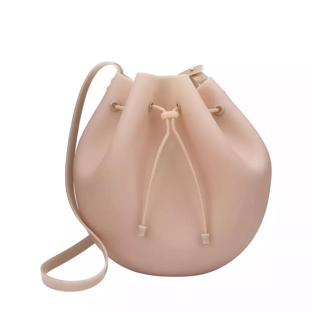 7328bdb92 Bolsa Saco Melissa Sac Bag Rosa Cameo Leitoso-único X341220 - R$ 219 ...