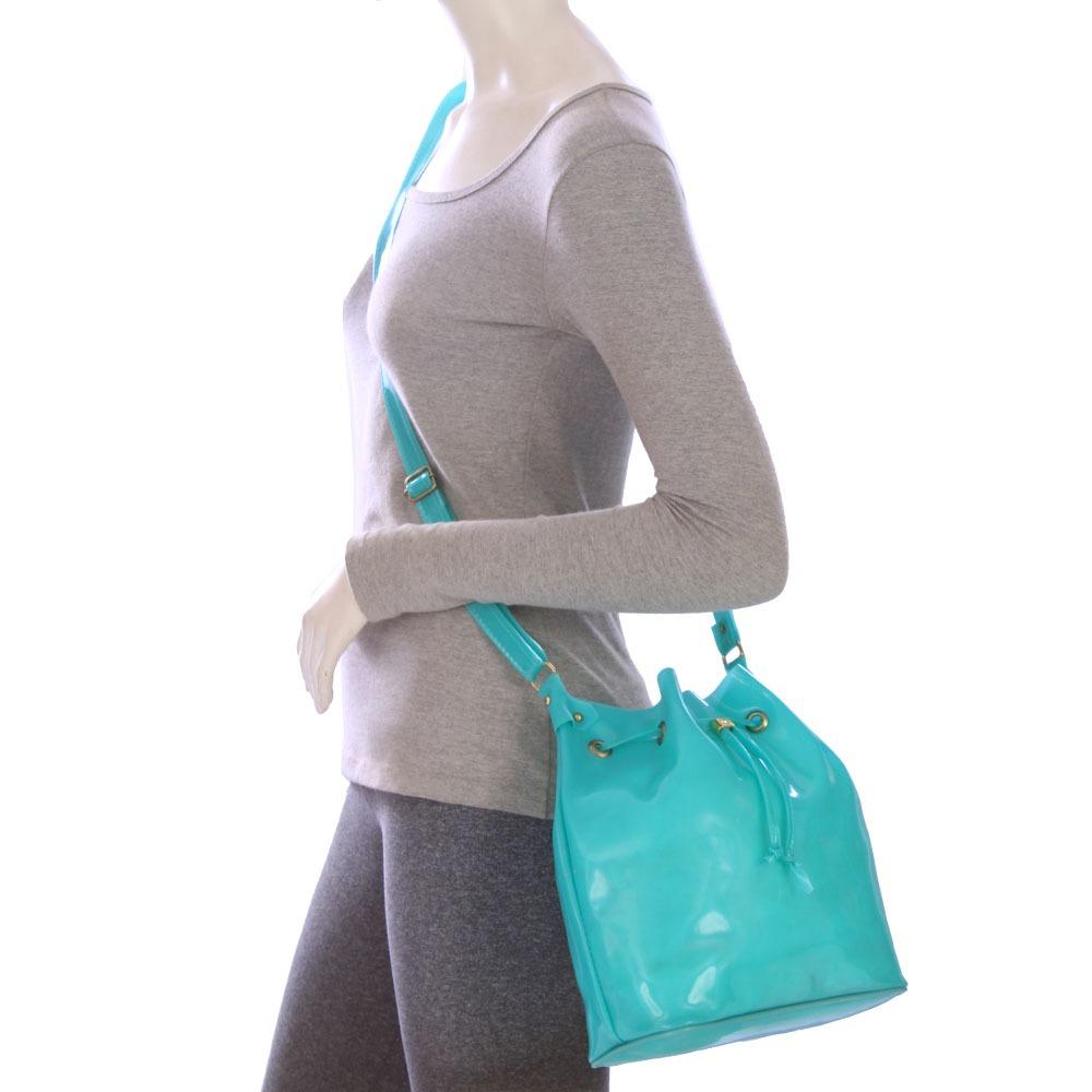 22c9eaad1 Bolsa Saco Ou Transversal Feminina Moda Praia De Silicone - R$ 66,88 ...
