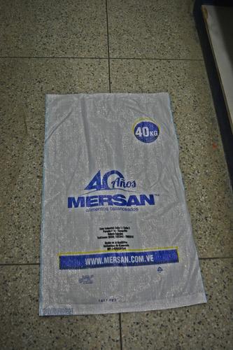 bolsa saco para escombros 40 kg (nuevas sin uso)