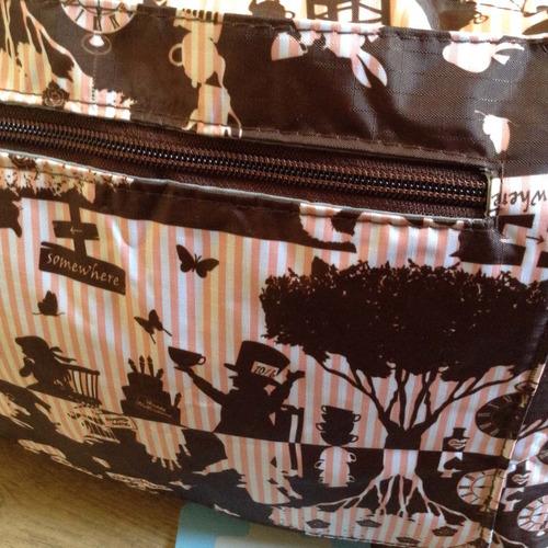 bolsa / sacola da  alice no país das maravilhas  imp. japão