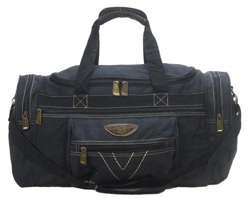 bolsa sacola de academia e viagem em lona kvn com 50 litros.