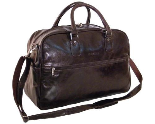 bolsa sacola de viagem para notebook em couro goldman 2028se