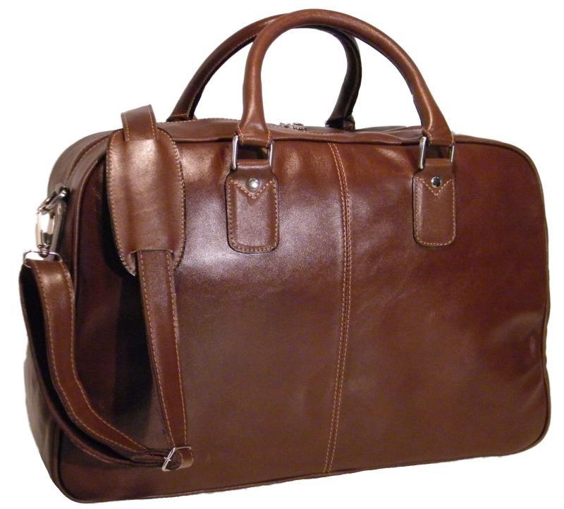 Bolsa Em Couro Para Notebook : Bolsa sacola de viagem para notebook em couro goldman