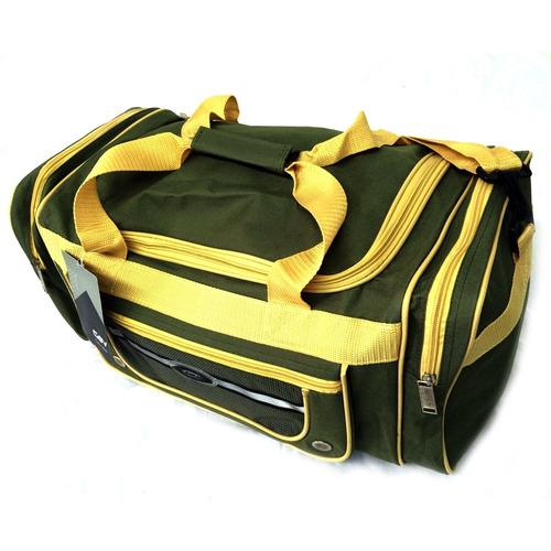 1223e0c84 Bolsa Sacola De Viagem Verde E Amarela Cavalier - R$ 52,99 em ...