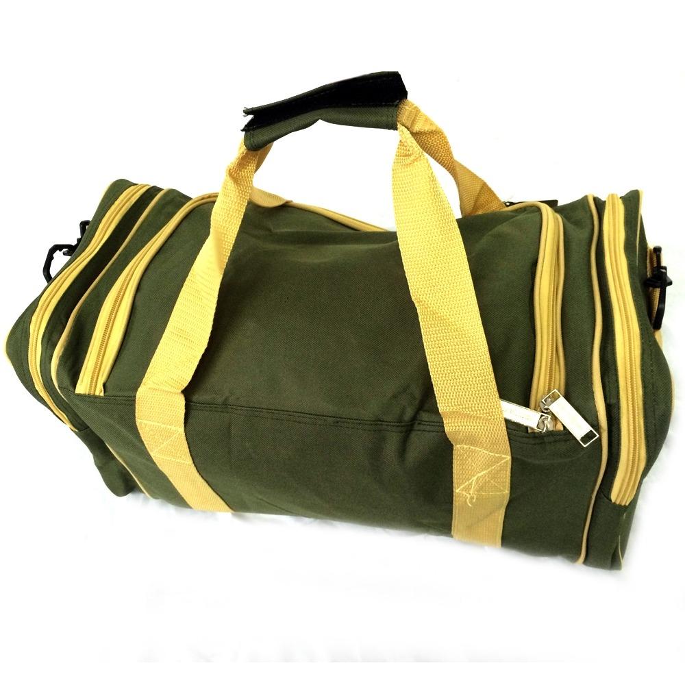 ec4587e70 bolsa sacola de viagem verde e amarela cavalier. Carregando zoom.