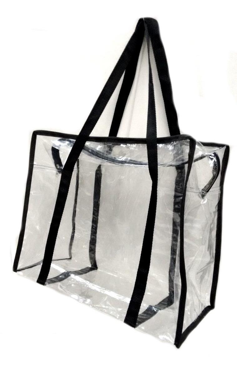 5f43b64d3 bolsa sacola em pvc cristal transparente grande visita depen. Carregando  zoom.