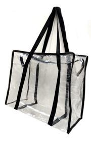 adfa78632 Bolsa Sacola Transparente - Calçados, Roupas e Bolsas no Mercado ...