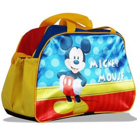 Bolsa Sacola Escolar Viagem Passeio Infantil Mickey Mouse