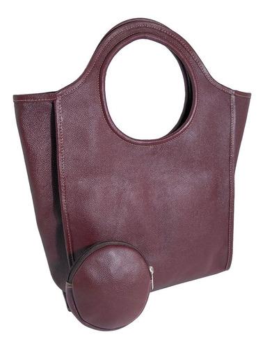 bolsa sacola feminina grande de couro legítimo genuíno