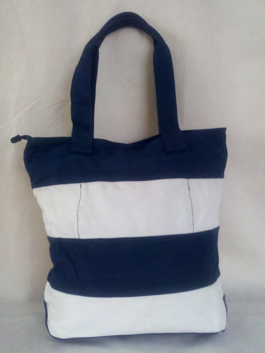 63e1a335c bolsa sacola feminina listrada moda praia em tecido jeans. Carregando zoom.