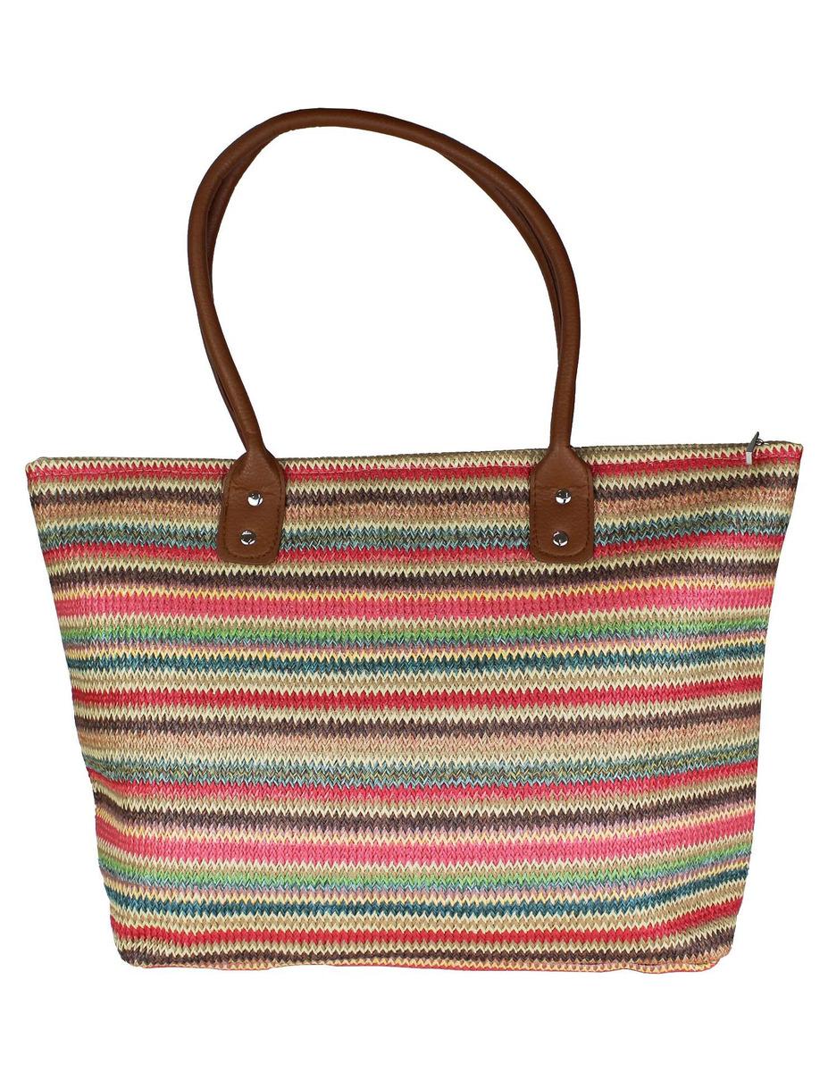 c4508c01a Bolsa Sacola Feminina Moda Praia Listrada - R$ 89,00 em Mercado Livre