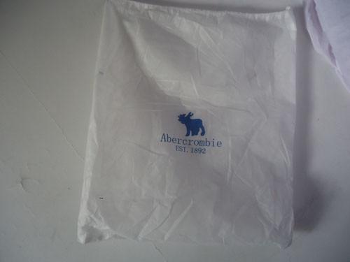 bolsa sacola hollister de tecido originais