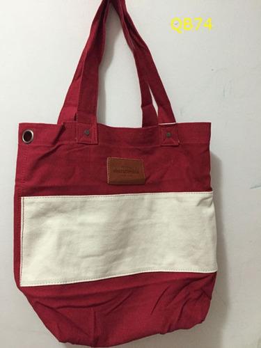 bolsa sacola hollister/abercrombie de tecido originais