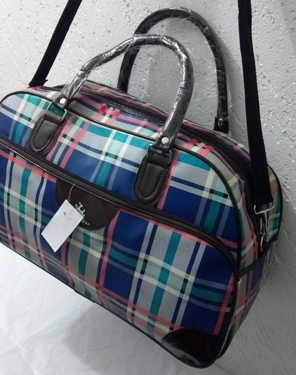520bd39b3 bolsa sacola mala mão viagem aeroporto feminina - xadrez. Carregando zoom.