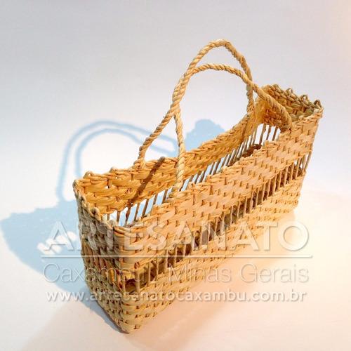 bolsa sacola palha milho feira praia ref.bop.q2b